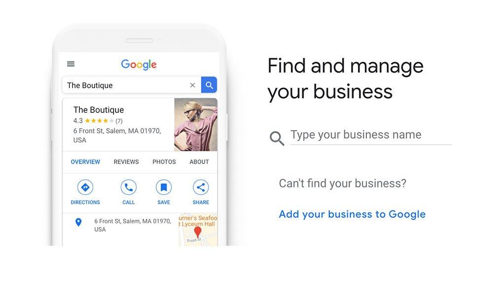 google my business platform