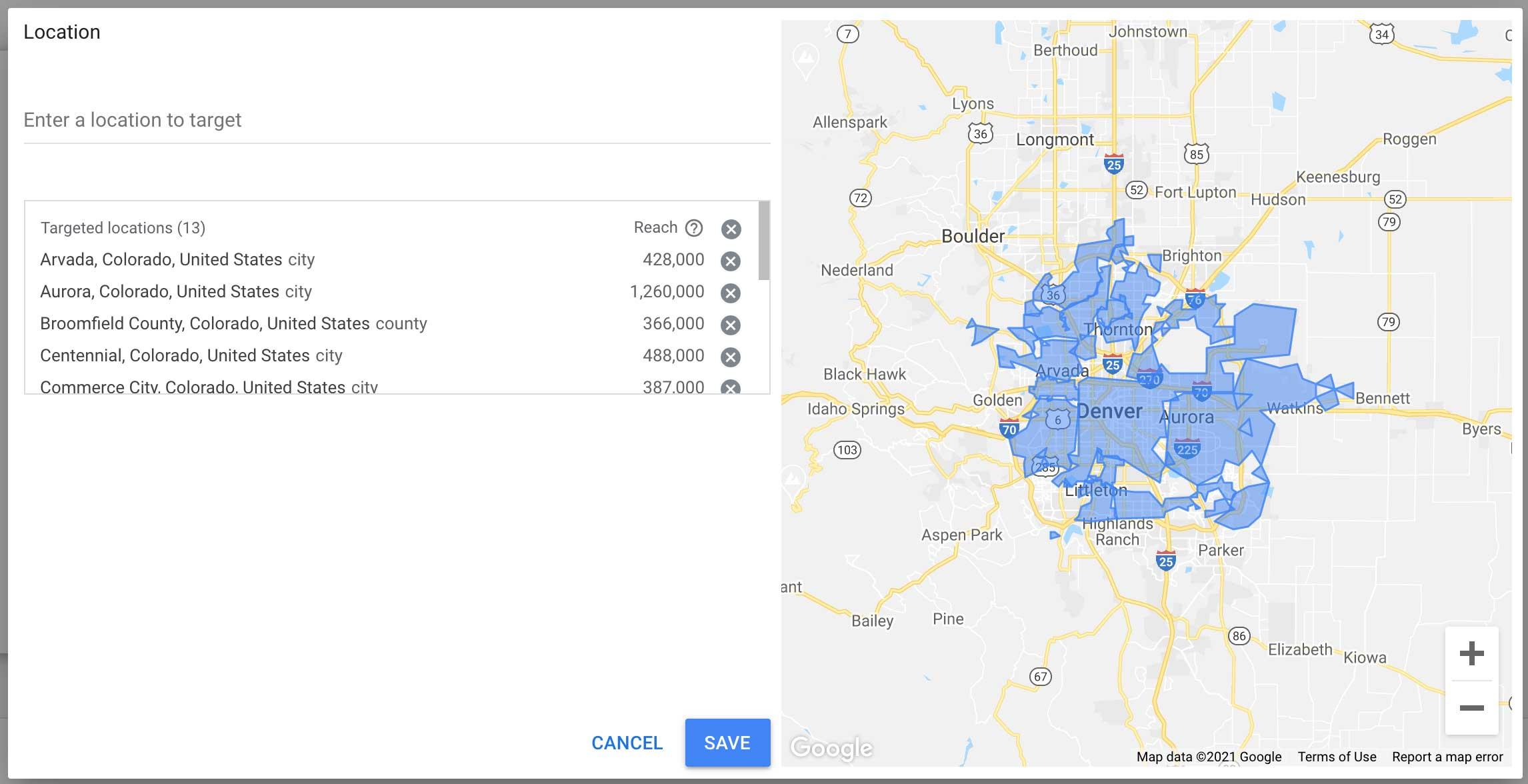 using the keyword planner to analyze web traffic